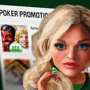 poker promotions box